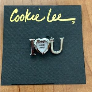 Cookie Lee I LOVE YOU pin
